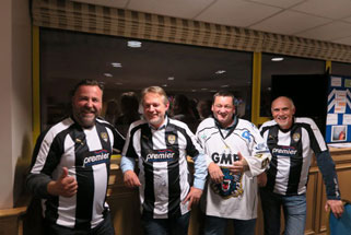 Fundraising for the homeless via CEO Sleep out with Notts County Football Club