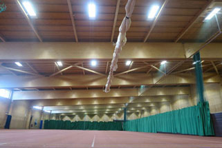 New LED lighting scheme installed to Sports hall in Boston
