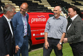 Notts County Football Club Back-of-home shirt sponsors announced.