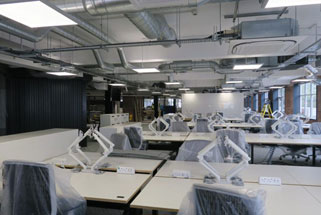 Office fit out nears completion