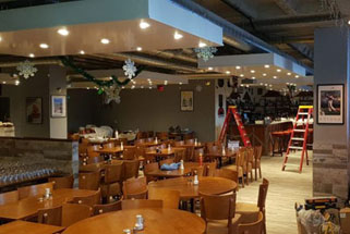 Restaurant fit out works in Purley Croydon