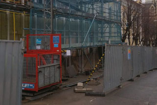 Works commence to phase 2 of extension to ceremony hall in Nottingham Trent University
