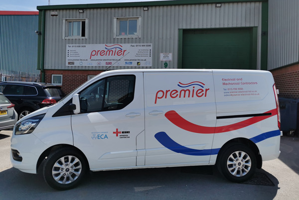 New look van ready to serve the company